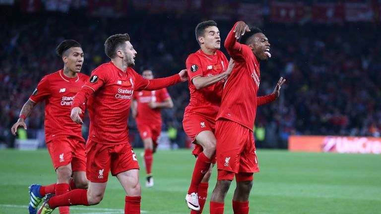 Daniel Sturridge opened the scoring for Liverpool in the first half