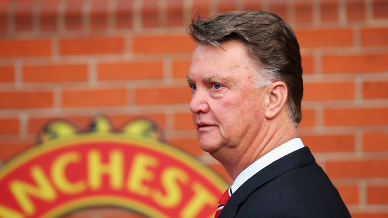 Louis van Gaal has one year left on his contract at Old Trafford