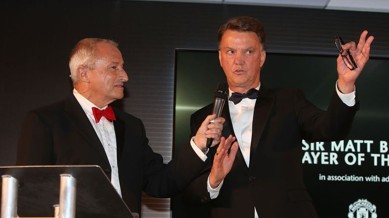 Van Gaal was speaking at Manchester United's end of season awards