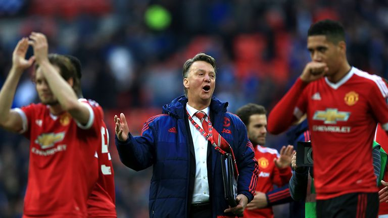 Louis van Gaal has claimed expectations are 'too high' at Manchester United
