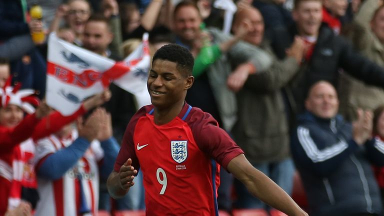 Marcus Rashford is the surprise inclusion in England's Euro 2016 squad