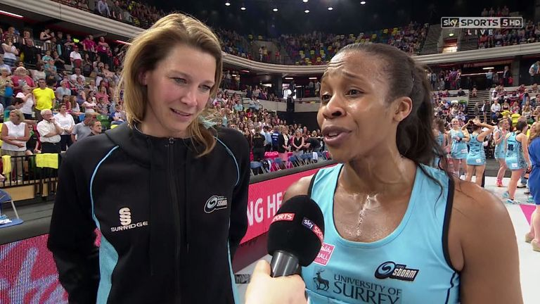 Kathryn Ratnapala and Pamela Cookey were delighted with Storm's success