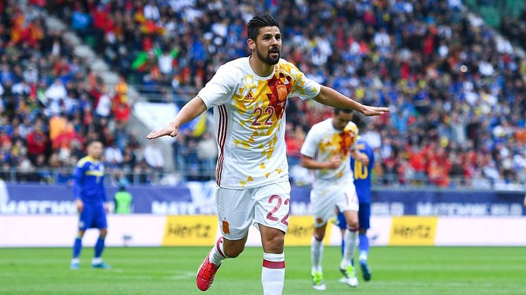 Nolito featured in all four of Spain's games at Euro 2016