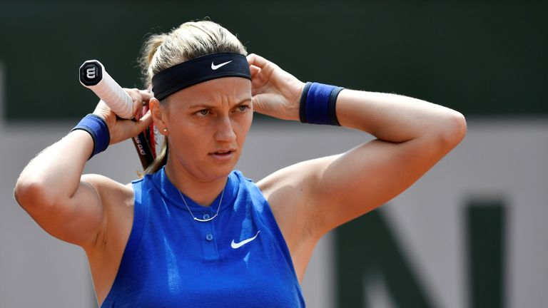 Petra Kvitova can move her fingers again after knife attack