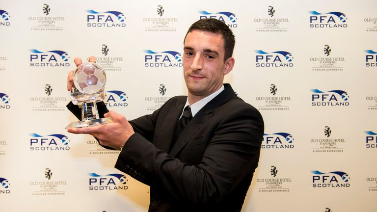 Wallace is the PFA Scotland Championship Player of the Year for the 2015/16 campaign