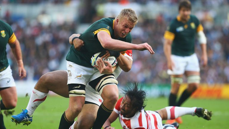 Pieter-Steph du Toit's absence is a blow for the Springboks