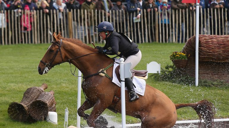 """Pippa Funnell has been given the """"all  clear"""" following her fall at the weekend"""