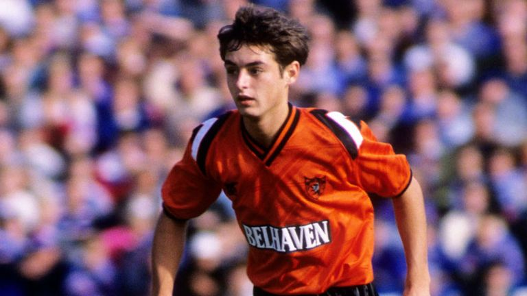 Ray McKinnon in action for Dundee United during his first season at the club