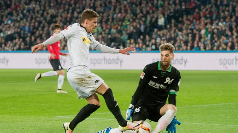 Zieler has been ever-present for Hannover for the past five seasons