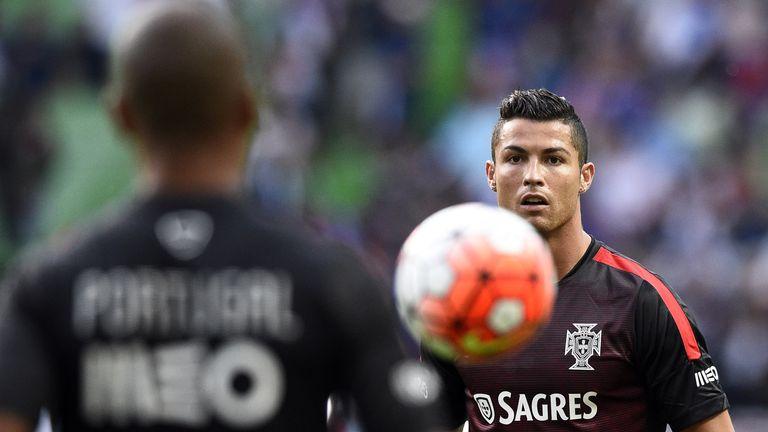 Cristiano Ronaldo is fit and focused, says coach Fernando Santos