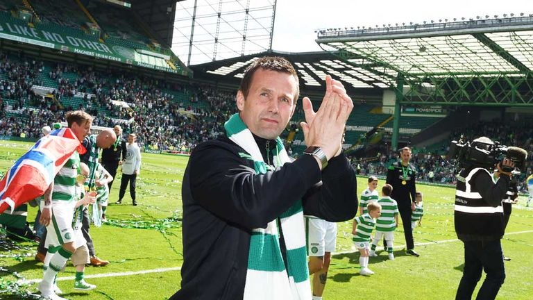Ronny Deila bows out of Celtic Park after delivering five-in-a-row