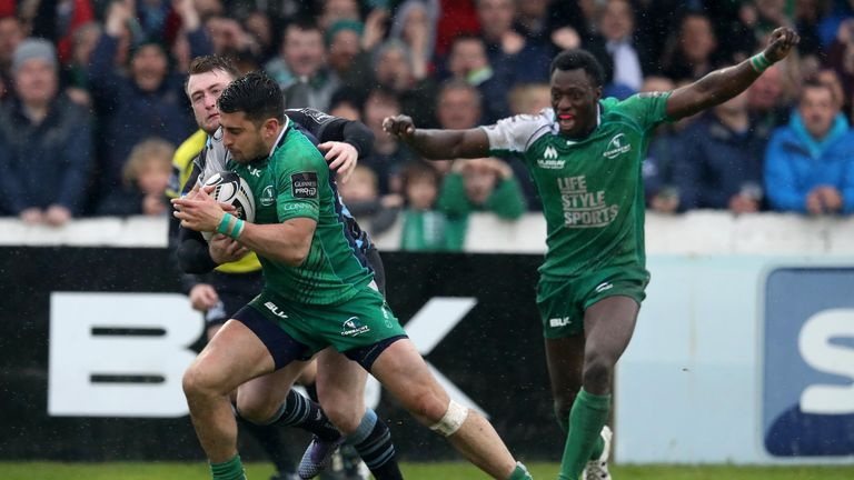 Connacht and Glasgow meet again in Saturday's PRO12 semi-final