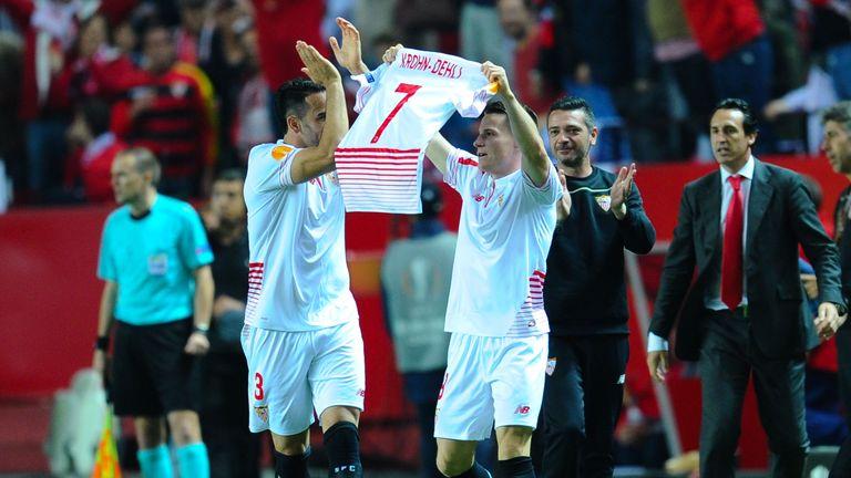Kevin Gameiro dedicates his second goal to injured team-mate Michael Krohn-Dehli
