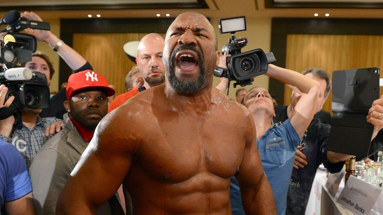 Shannon Briggs is keen to settle his war of words with David Haye in the ring