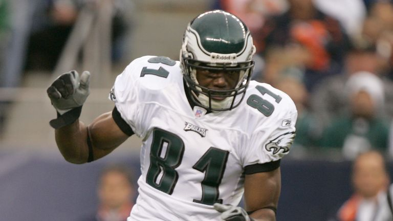 Former Philadelphia Eagles wide receiver Terrell Owens is part of the 2018 Hall of Fame class