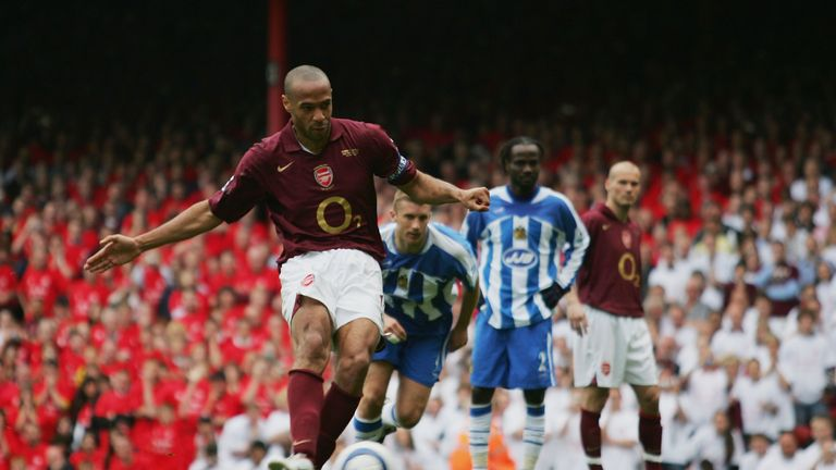 Arsenal's all-time record goalscorer Thierry Henry scored the final goal at Highbury