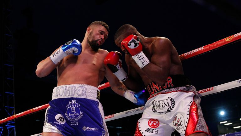Bellew became a world champion for the first time - Image by Lawrence Lustig