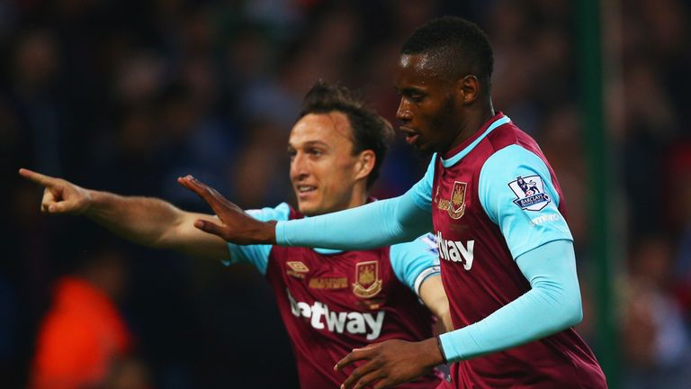 Diafra Sakho is an Albion target, although West Ham are reluctant to discuss a potential sale at this time