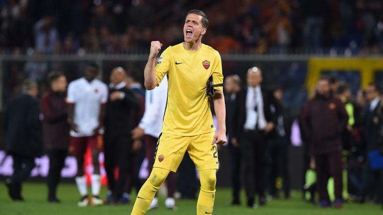 Wojciech Szczesny has returned to Serie A side Roma