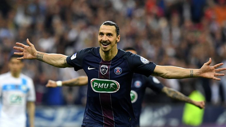 Manchester United have been linked with Zlatan Ibrahimovic