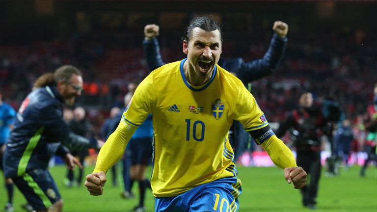 Sweden's main man Zlatan Ibrahimovic will expect to make his mark