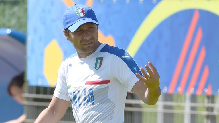 Antonio Conte was in charge of Italy from 2014 to 2016