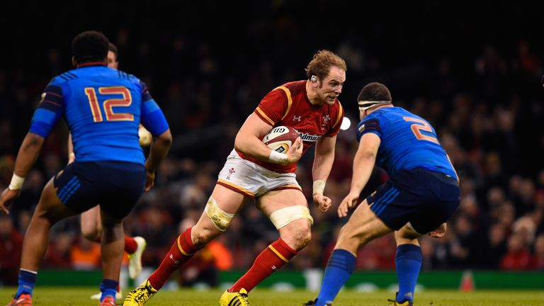 Alun Wyn Jones will win his 100th Test cap on Saturday