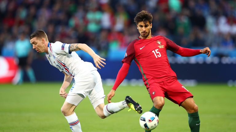 Andre Gomes helped Portugal win the 2016 European Championships