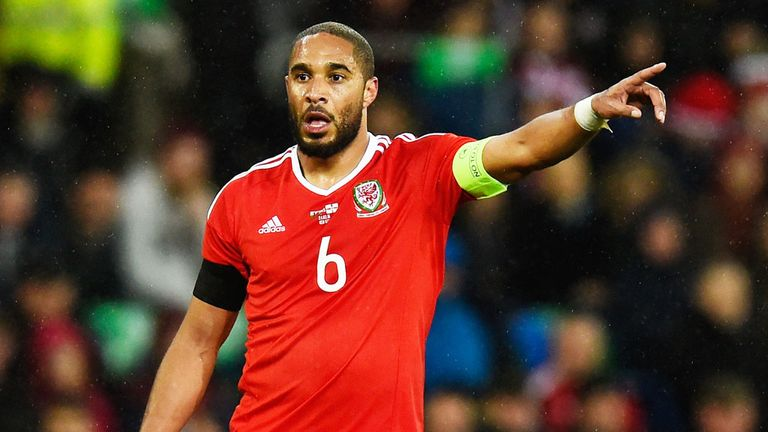 Ashley Williams will captain Wales at their first European Championships