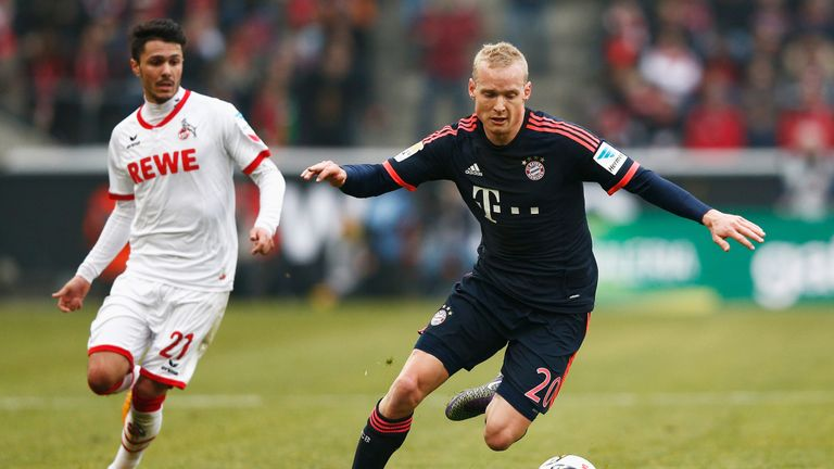 Rode struggled for game time in two years at the Allianz Arena