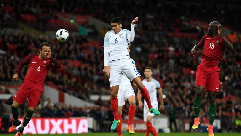 Smalling scored England's winner in their recent friendly against Portugal