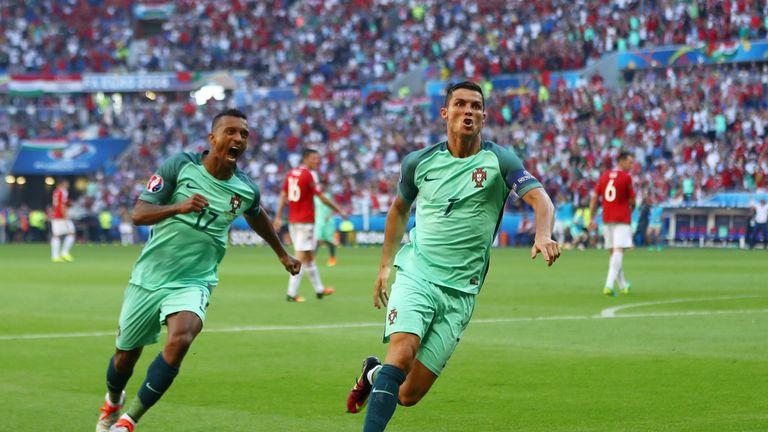 Ronaldo's brace against Hungary ensured Portugal's qualification