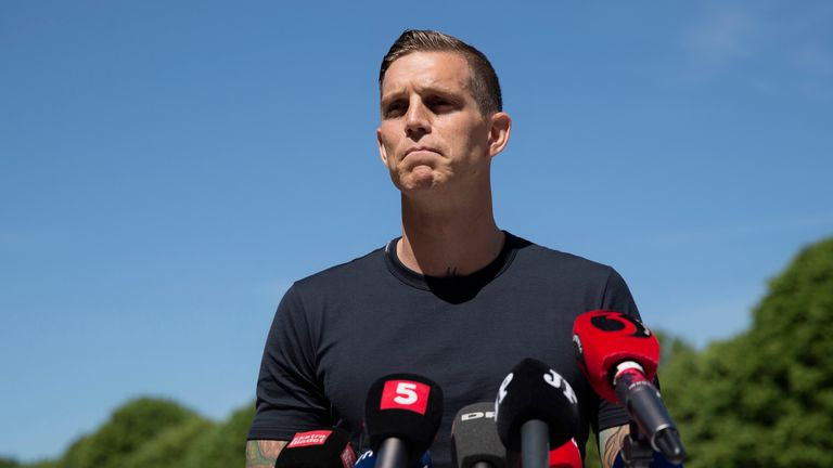 Daniel Agger has decided to hang up his boots