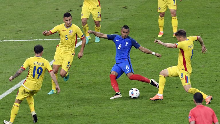 Dimitri Payet's late goal gave France a winning start to Euro 2016