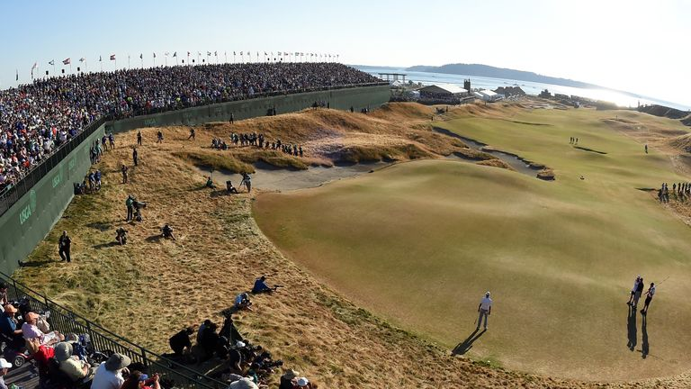 Chambers Bay recieved criticism from the players during last year's tournament