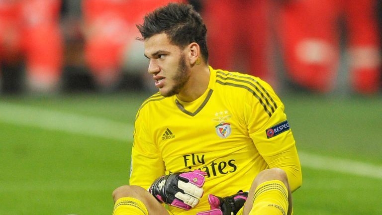 Ederson has enjoyed a rapid rise in football since starting out with Sao Paolo in his native Brazil