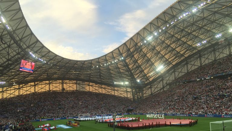 The Stade Velodrome hosted an AC/DC concert shortly before Euro 2016