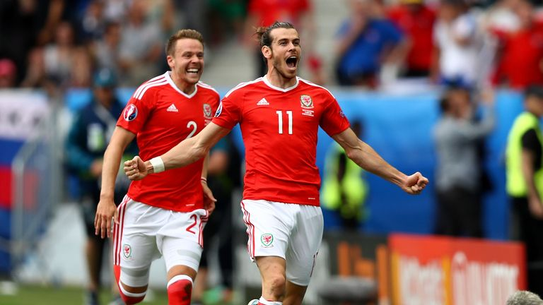 Bale scored in each of Wales' group games
