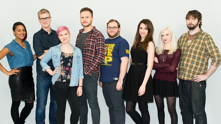 GINX eSports TV team of presenters