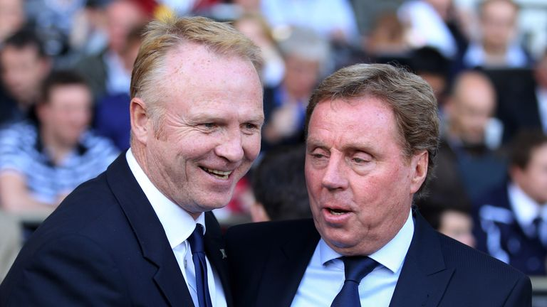 Alex McLeish and Harry Redknapp have both switched from rival clubs