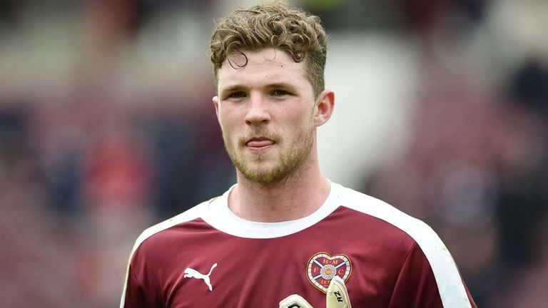 Jack Hamilton has left Hearts to join Dundee
