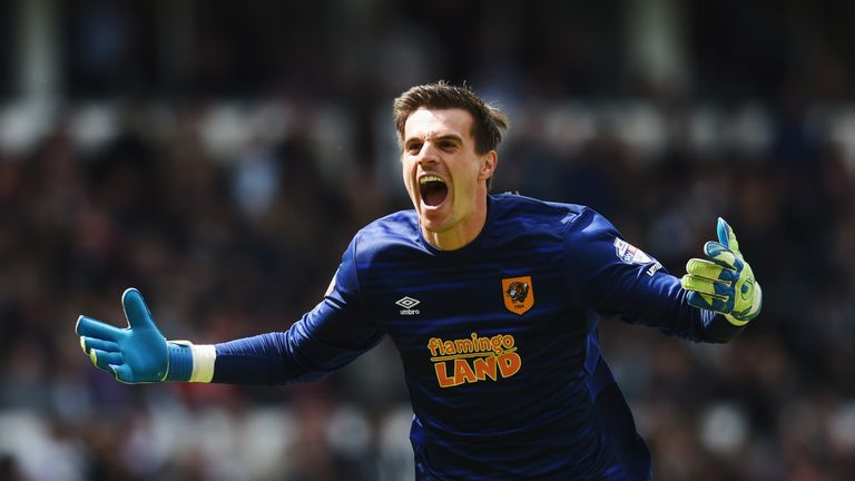 Eldin Jakupovic will stay at Hull City for a further two years