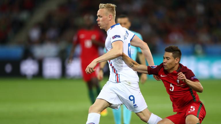 Kolbeinn Sigthorsson is six goals away from becoming Iceland's record goal-scorer