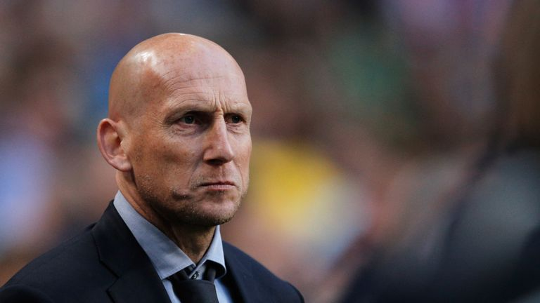 Jaap Stam has his first managerial job in England with Reading