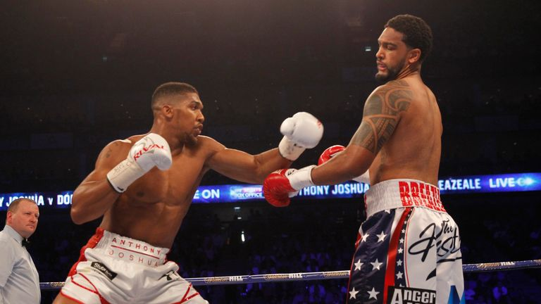 Joshua's handspeed was too much for Breazeale