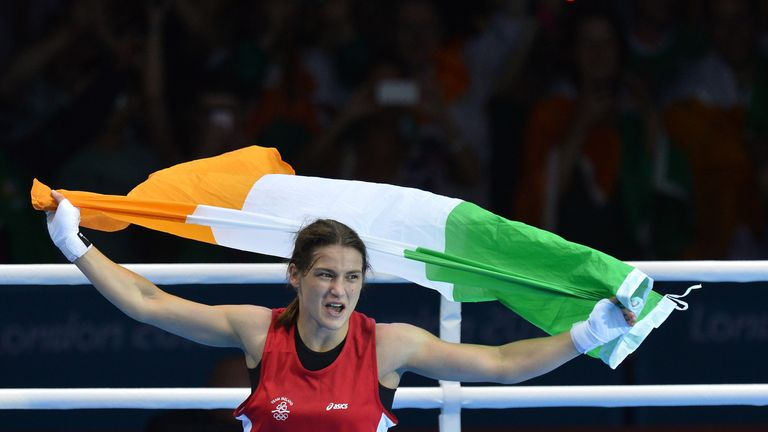 Taylor claimed gold for Ireland at London 2012