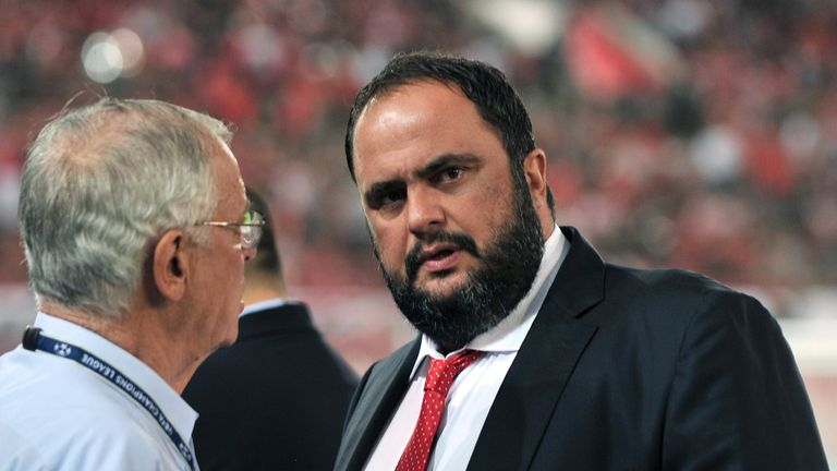 Evangelos Marinakis, owner of Nottingham Forest and Olympiacos, faces trial over alleged match-fixing in Greece