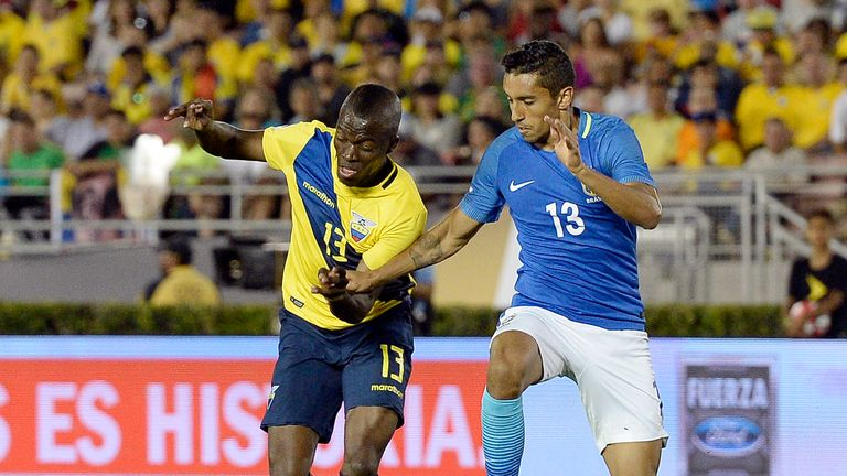 Enner Valencia helped Ecuador to a 4-0 win over Haiti in the Copa America