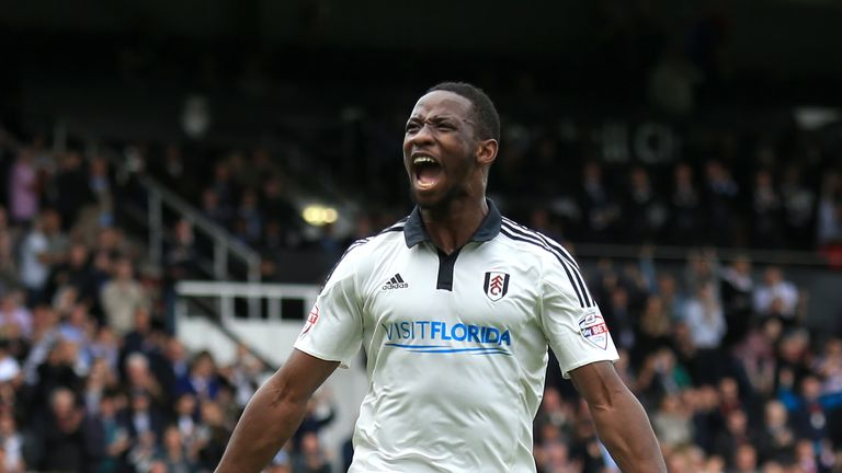 Dembele scored 15 goals in the Championship and two in cup competitions for Fulham last season