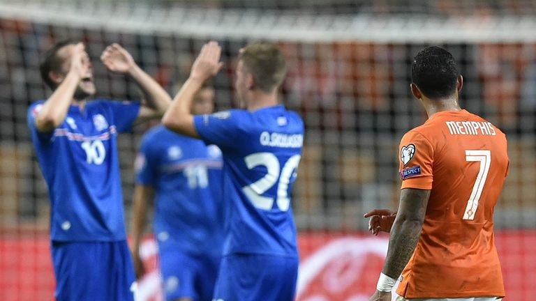 Iceland stunned the Netherlands in qualifying, beating the Dutch home and away